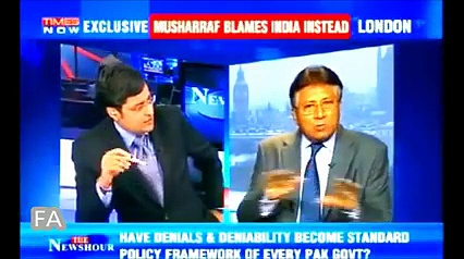 Pervez Musharraf's response to Indian queries