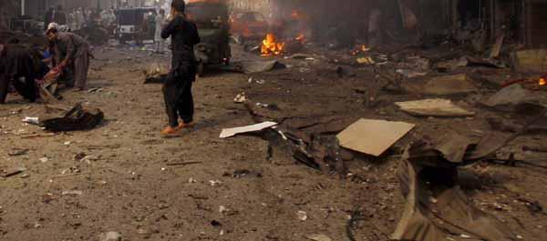 Suicide Bomber Targets Peshawar Judges' Vehicle; Driver Killed