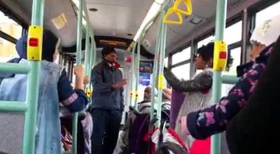 Anti-Muslim rant on London bus goes viral