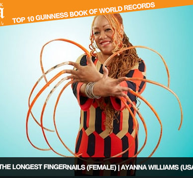 The Top 10, 2018 Guinness Book of World Records, in pictures