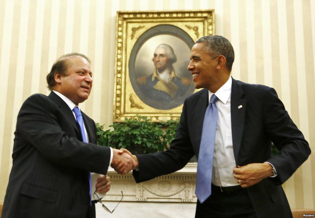 Washington : PM Nawaz media briefing