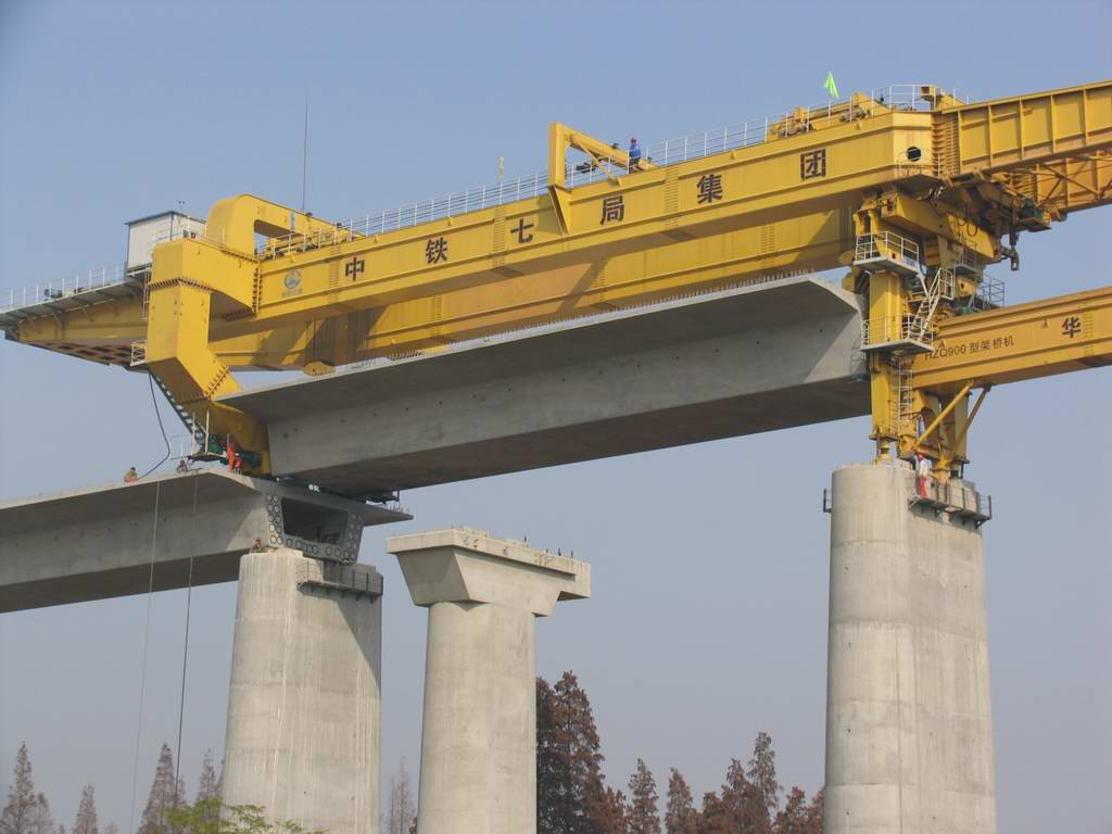Working of Bridge Beam Assembling Machine