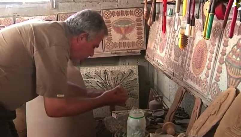 Meet Gaza's Mosaic Sculptor