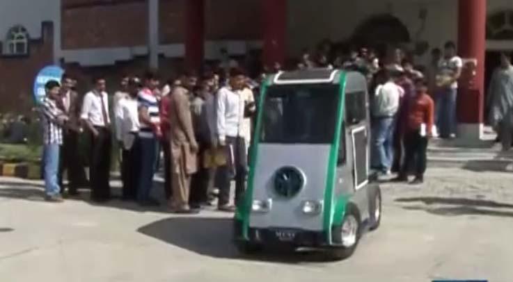Students of Azad Jammu and Kashmir design Solar Car