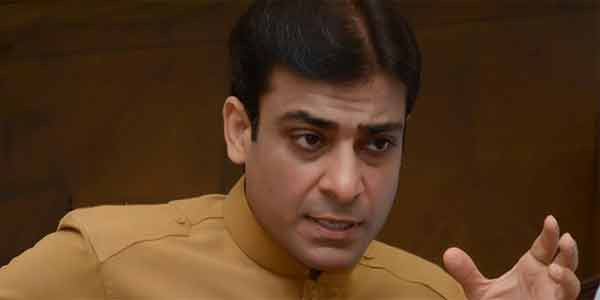 Let us work for Pakistan's prosperity, political rivalry later, Hamza Shahbaz suggests Imran Khan