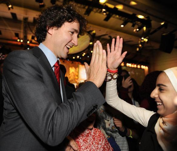 Canadian PM Justin Trudeau on Muslim Hijab