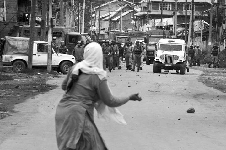 India's occupation of Kashmir