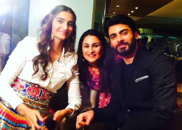 Sonam Kapoor enjoys song by Fawad Khan