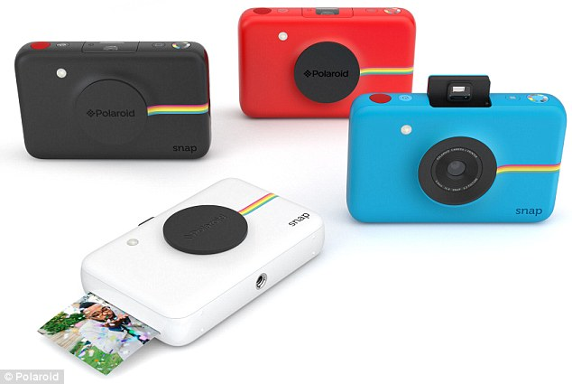 Camera and photo printer in one