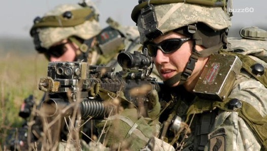 Women are now allowed in U.S. combat roles