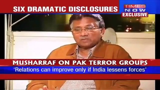 Musharraf to an Indian