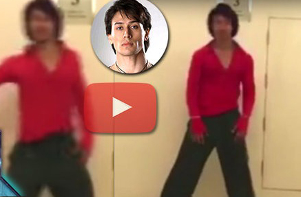 Tiger Shroff Does Manma Emotion Jaage DUBSMASH