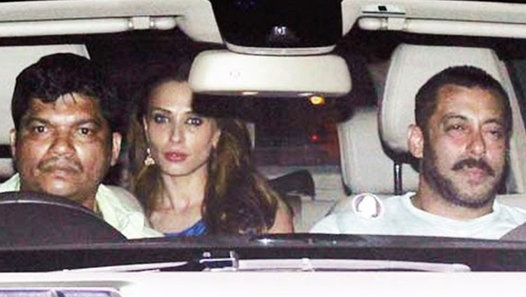 Salman Khan spotted dating Lulia Vantur's at midnight