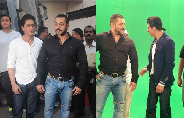 Shahrukh and Salman shoot for Big Boss 9