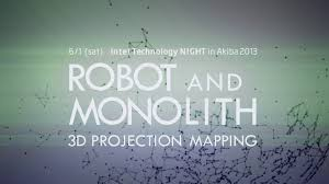 """Intel Technology Night in Akiba 2013"" 3D Projection Mapping"
