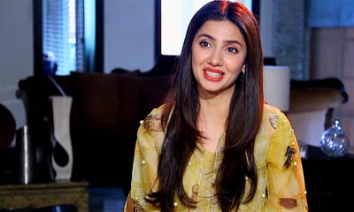 Mahira Khan in morning show