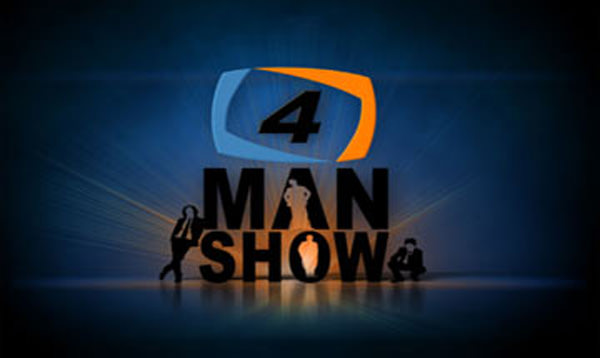 4 Man Show on Aaj News – February 14, 2016