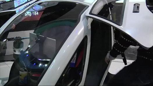 Human Transport Drone, Segway Robot