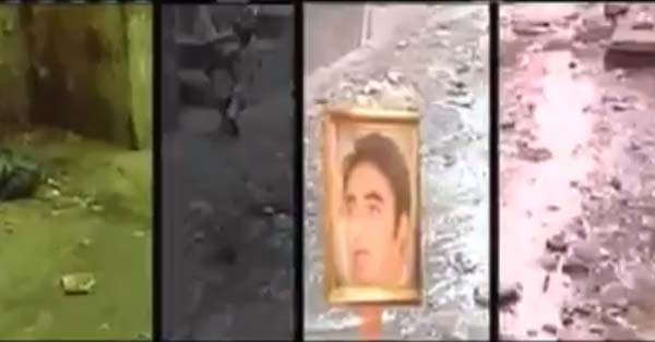 Bilawal Bhutto's Pictures Now Placed on Open Manholes
