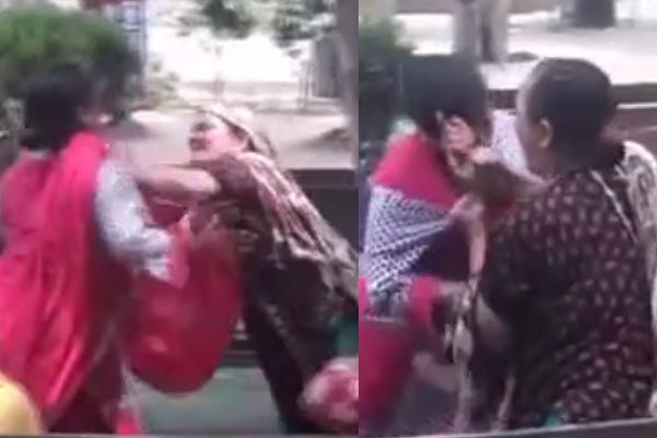 Gujranwala: Woman Beats Up Mother-in Law