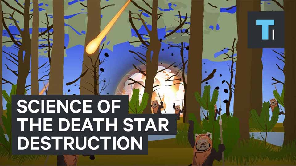 Science Of The Death Star Destruction