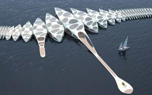 Futuristic Floating Hotel