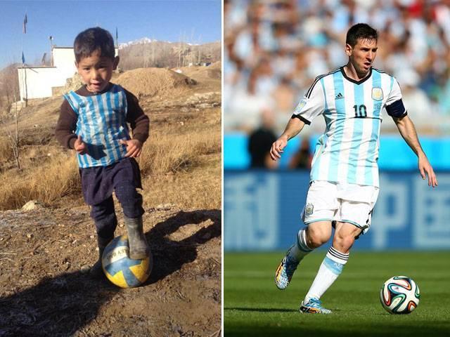 Messi Seeks to Meet Afghan Boy in Plastic Jersey