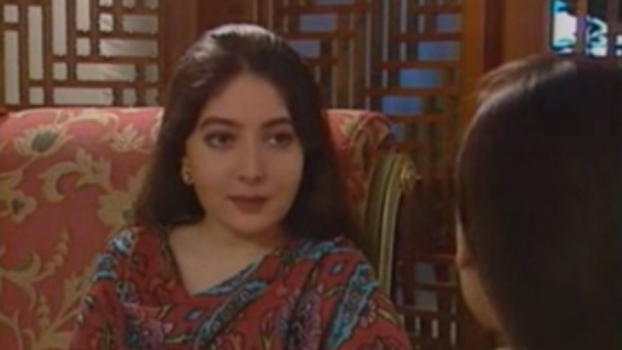 Sharmila Farooqi Working as an Actress in PTV Drama