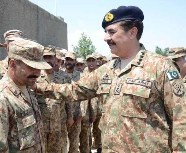 Peshawar: Rally In Favour Of General Raheel