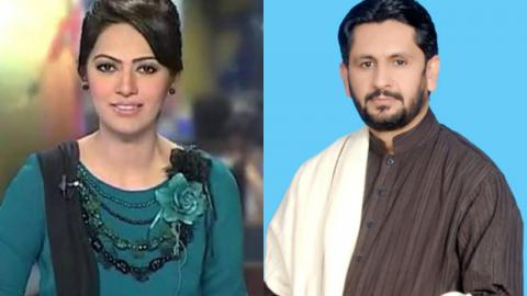 Saleem Safi Got Angry On Ayesha Bakhsh