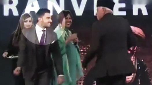 Ranveer Singh Makes Ex CM Of Jammu and Kashmir Dance