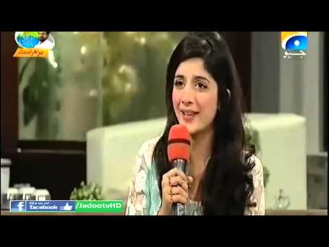Mawra Hocane in Aamir Liaquat's Show