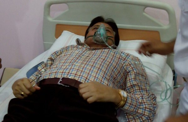 Pervez Musharraf In Hospital