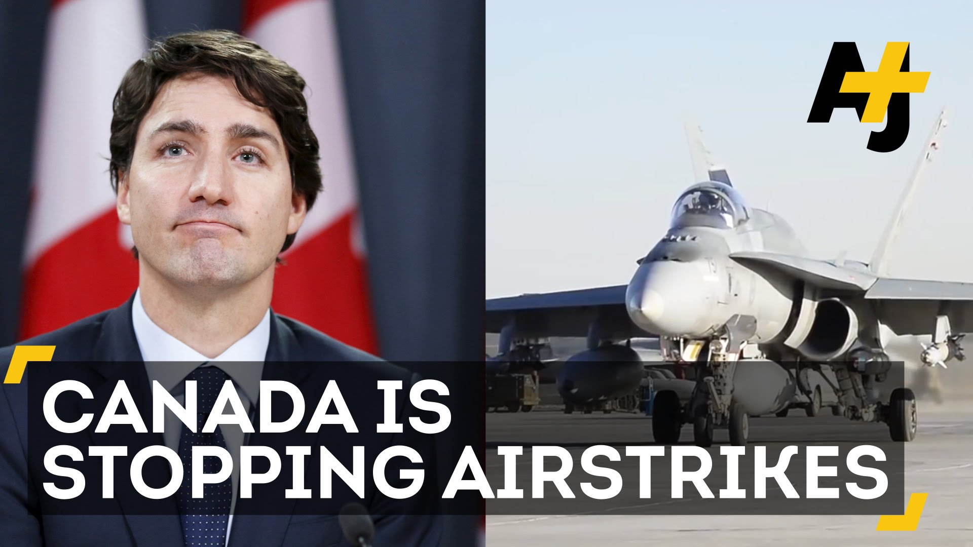 Canada's Justin Trudeau To Stop Airstrikes Against ISIS