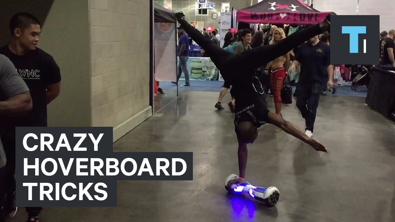 Crazy Hoverboard Tricks