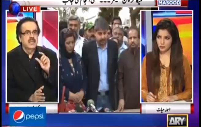 Latest Speech of Altaf Hussain is fake – Dr. Shahid Masood