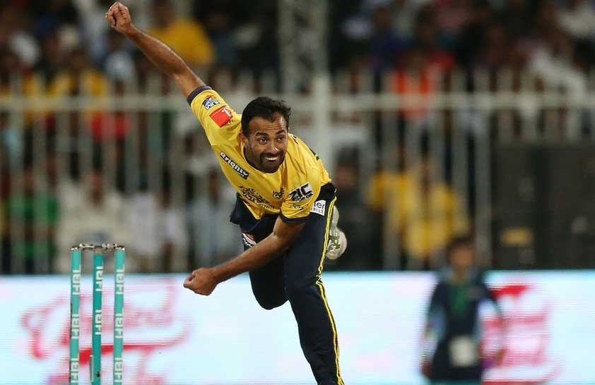 Wahab Riaz Bowled Sangakkara Out on Duck