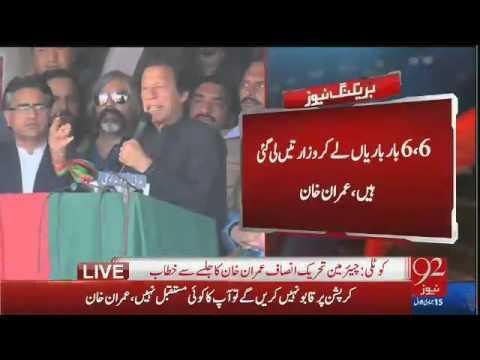 Imran Khan Speech in Kotli