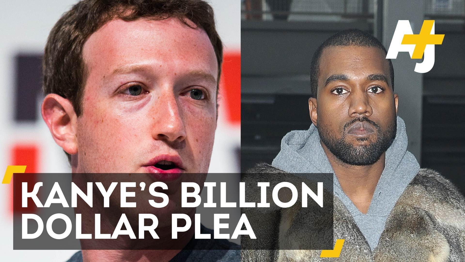 Kanye West Asks Mark Zuckerberg For $1 Billion