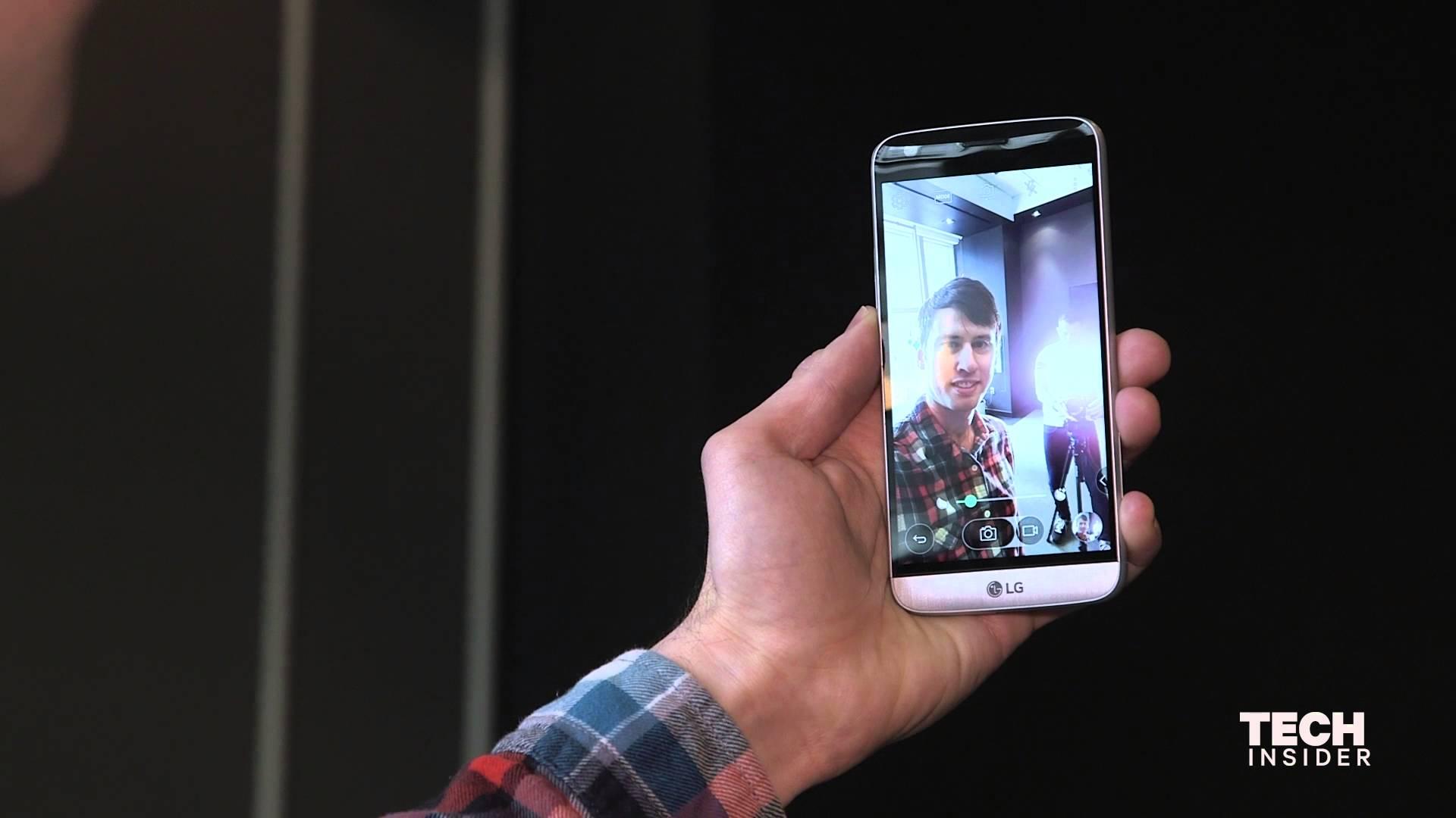 LG Phone's New Unique Design