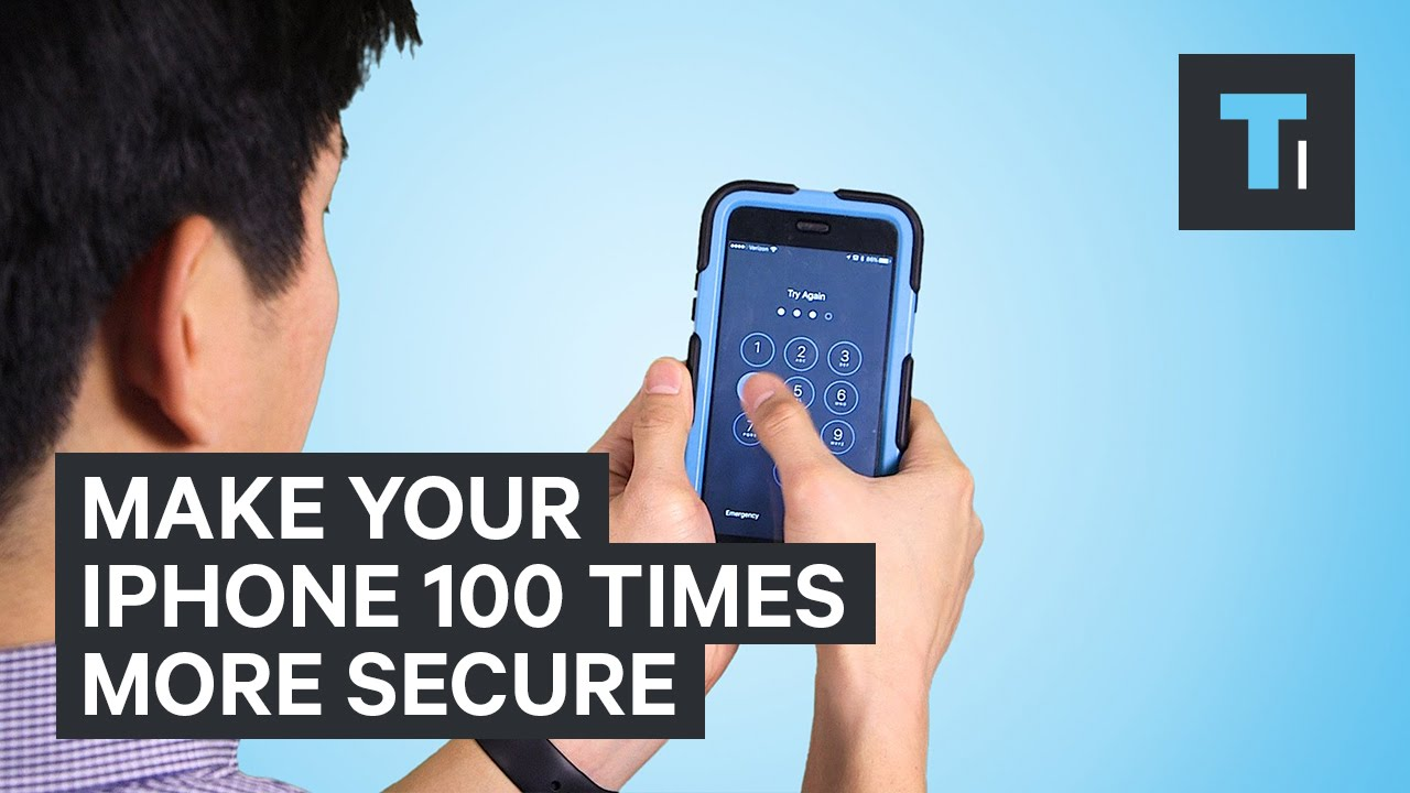 Make Your iPhone 100 Times More Secure