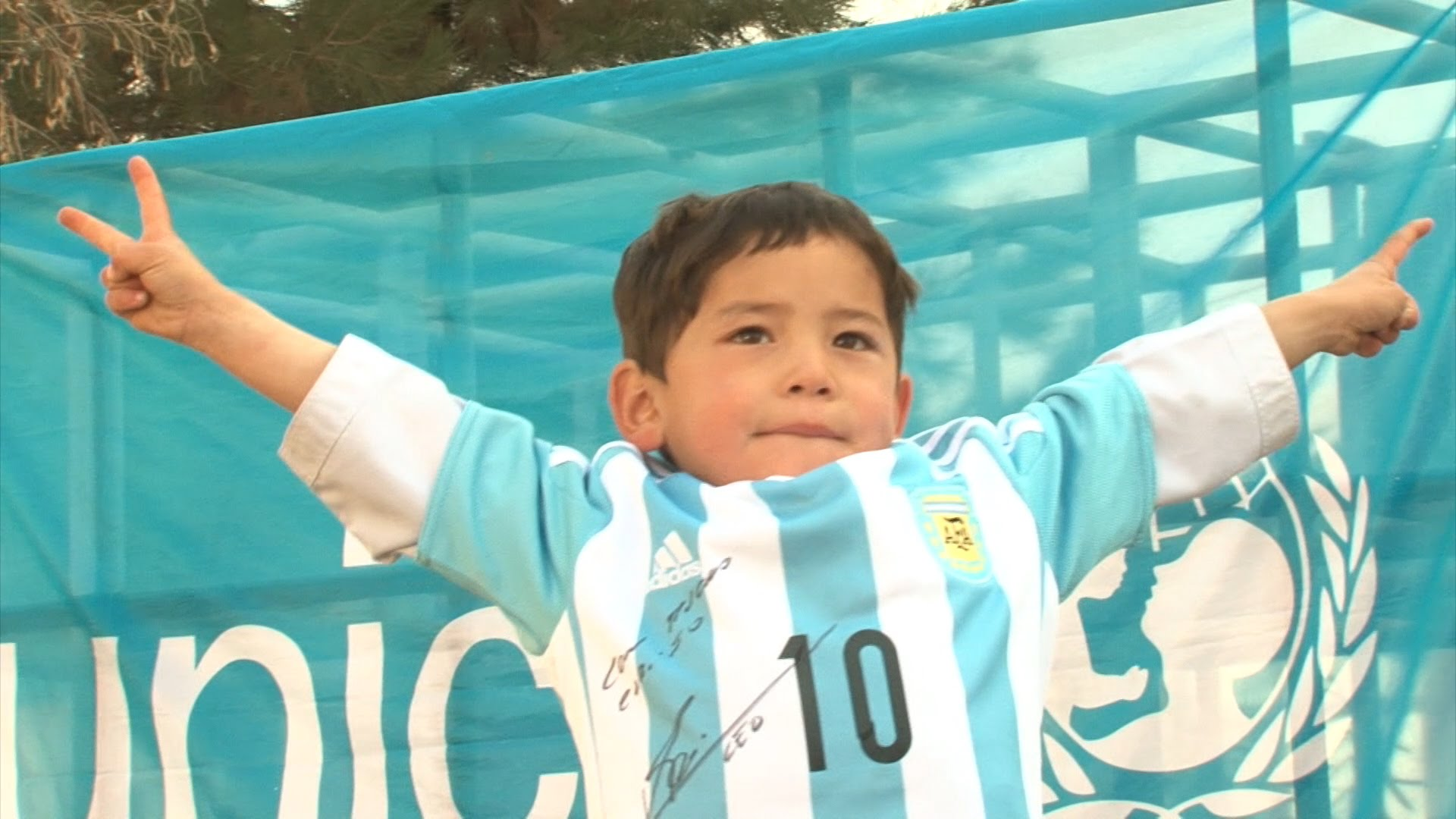 Messi's Biggest 5-Year-Old Fan Gets A Big Surprise