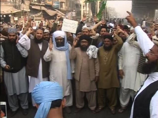 Protest Against Mumtaz Qadri's Execution
