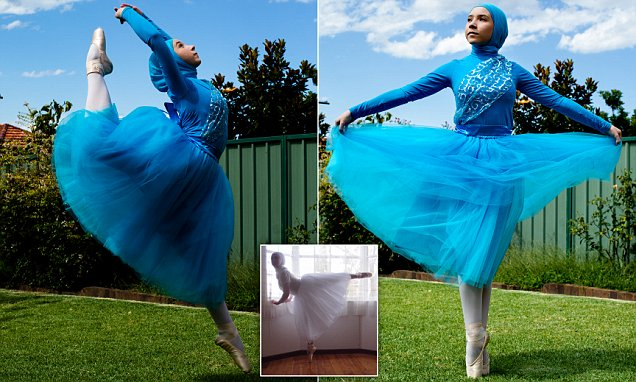 Muslim Girl Wants to Be First Hijabi Ballet Dancer