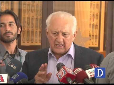 Shaharyar Khan Talks To Media