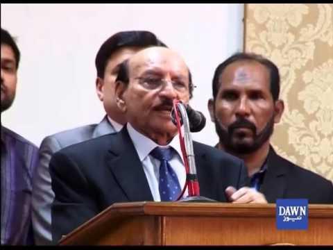 Qaim Ali Shah On Thar