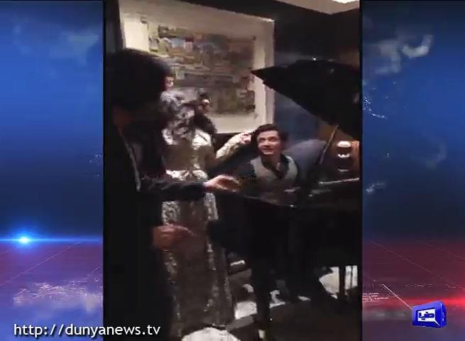 Rameez Raja Sings a Song Along with Ali Zafar and Chitrangada Singh