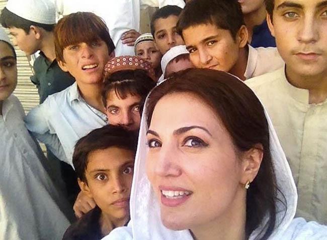 Reham Khan in KPK