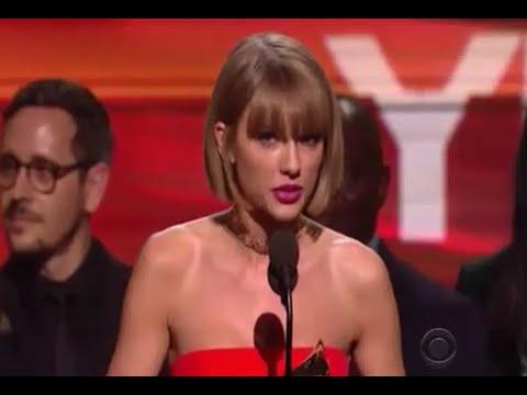 Taylor Swift Wins Best Album at Grammys