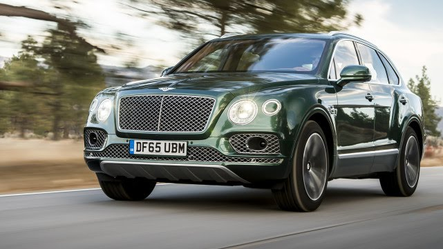The Bentley Bentayga Is the World's First Ultra-Luxe SUV